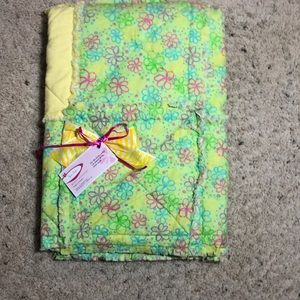 RAG BABY QUILT HANDMADE BY ME❤️❤️❤️